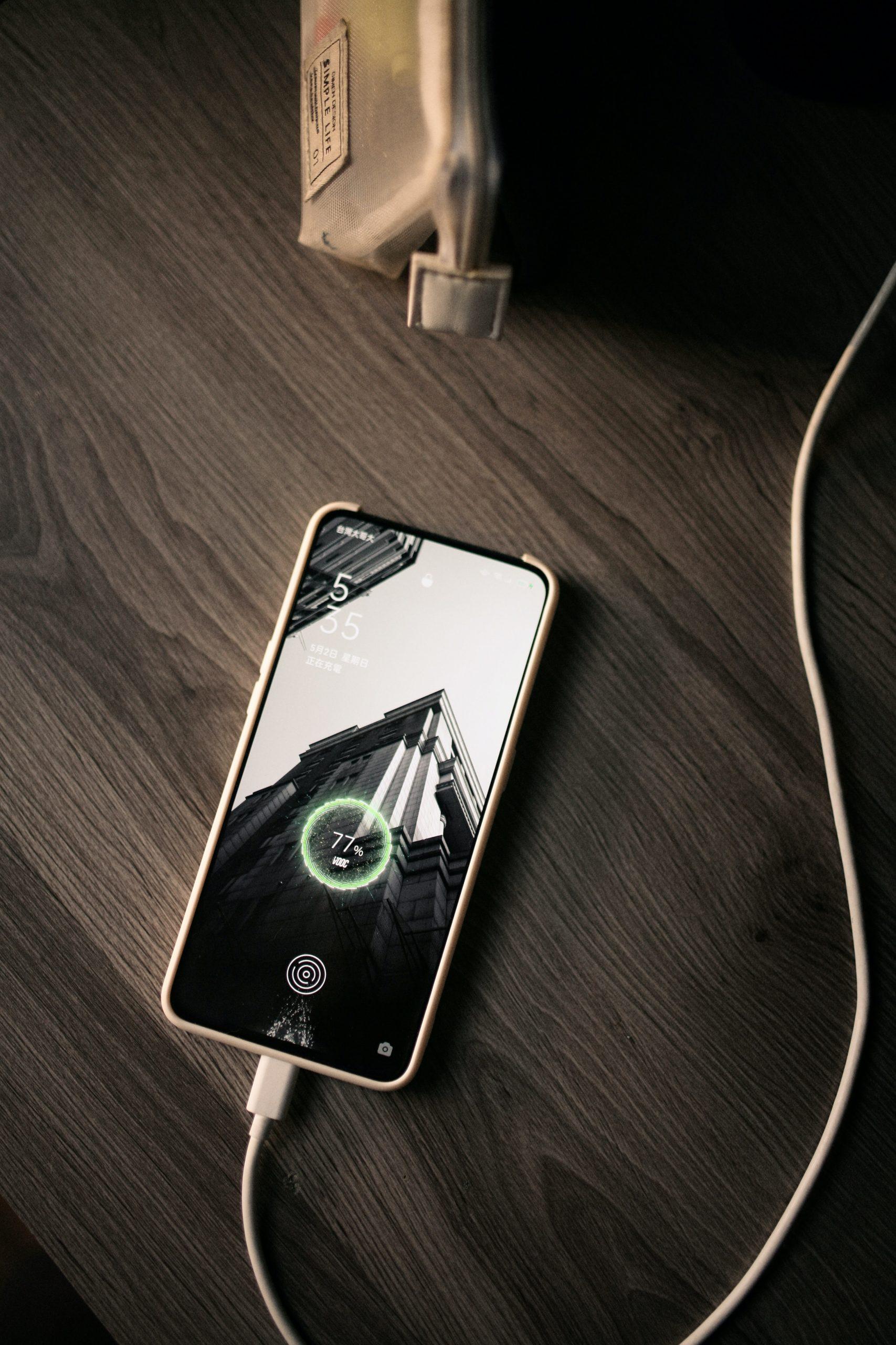 phone battery charging